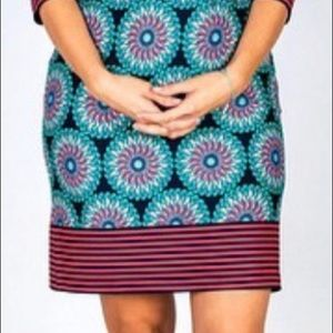 Tracy Negoshian Dresses - Tracy Negoshian NWT Retro Circles 3/4 Sleeve Dress